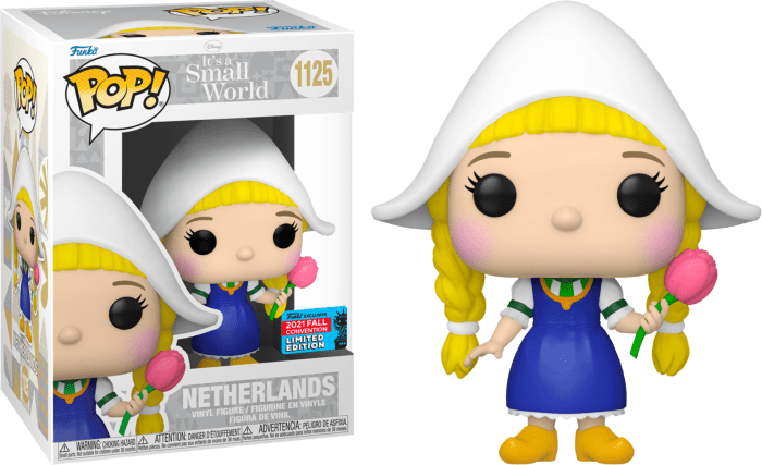 Disney- It's a Small World POP! Vinyl Figure Netherlands (2021 Fall Convention Exclusive)