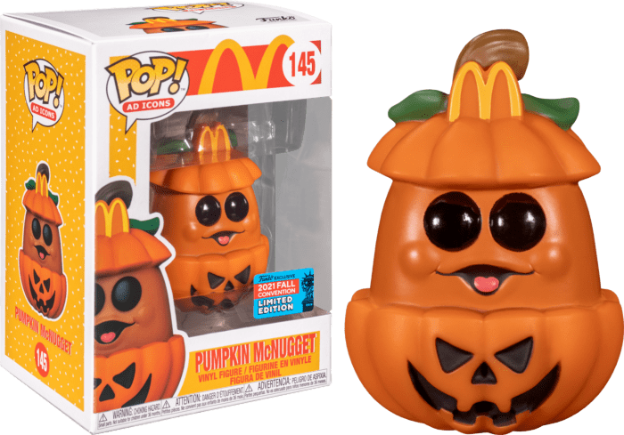 McDonald's POP! Vinyl Figure Halloween Pumpkin McNugget (2021 Fall Convention Exclusive)