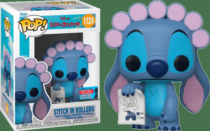 Lilo & Stitch POP! Vinyl Figure Stitch in Rollers (2021 Fall Convention Exclusive)