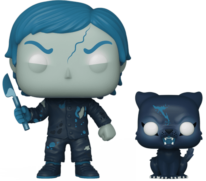 Pet Sematary! Movies Vinyl Figure Undead Gage with Church Glow in the Dark Limited 9 cm