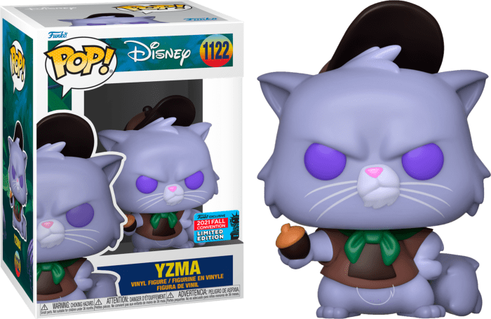 The Emperor's New Groove POP! Vinyl Figure Yzma (2021 Fall Convention Exclusive)