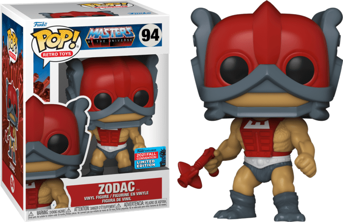 Master of The Universe POP! Vinyl Figure Zodac (2021 Fall Convention Exclusive)