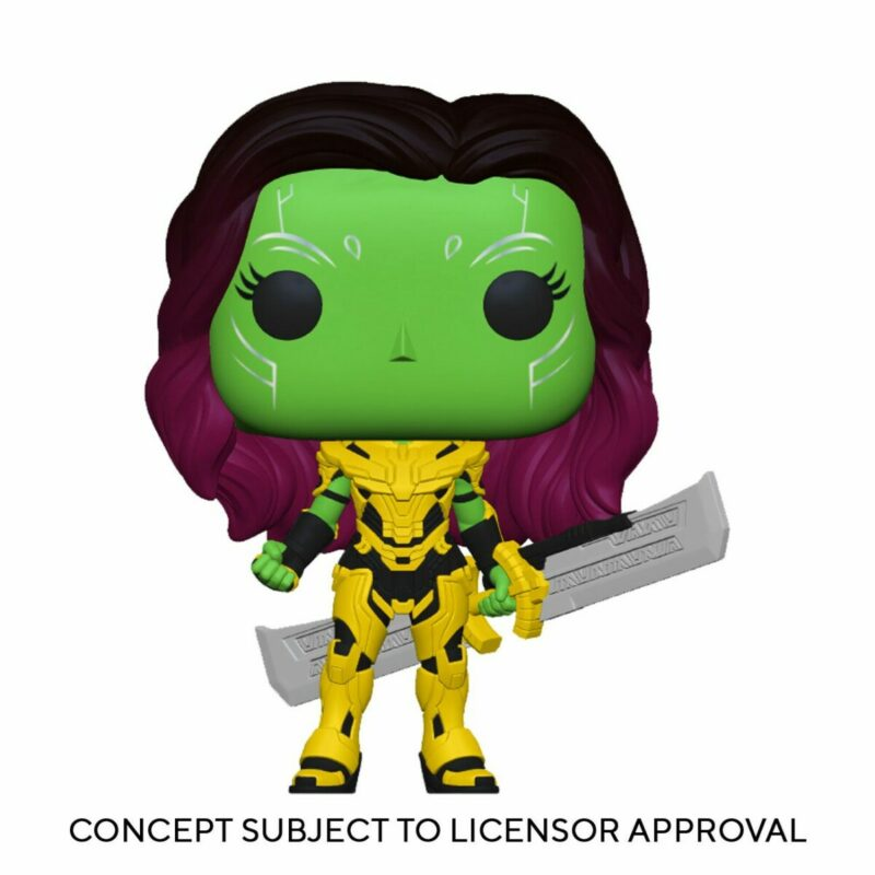 What If...? POP! Animation Vinyl Figure Gamora with Blade of Thanos 9 cm