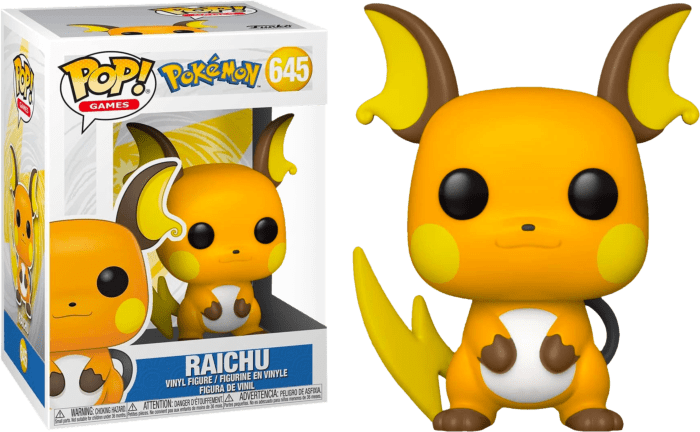 Pokemon POP! Vinyl Figure Raichu Limited 9 cm