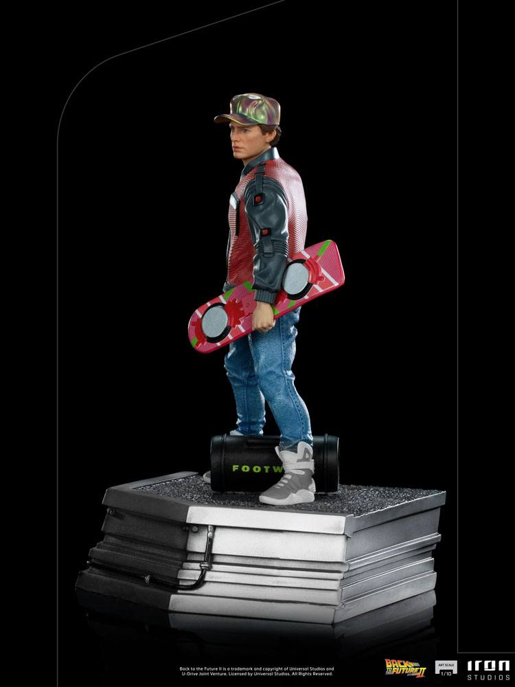 Back to the Future II Art Scale Statue 1/10 Marty McFly 22 cm