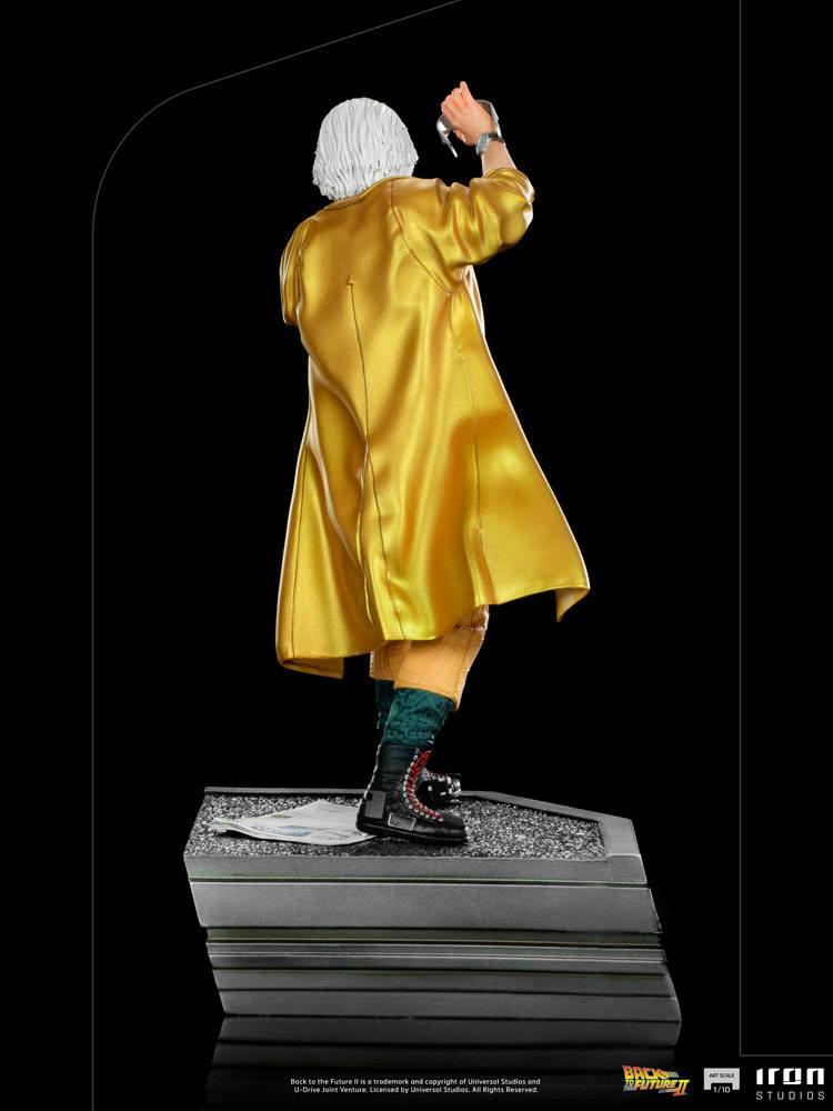 Back to the Future II Art Scale Statue 1/10 Doc Brown 25 cm