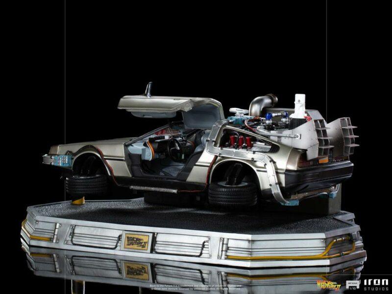 Back to the Future II Art Scale Statue 1/10 DeLorean 58 cm