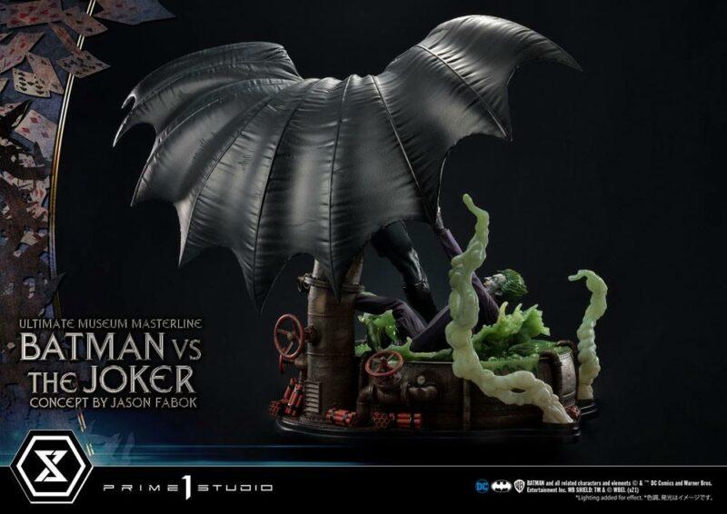DC Comics Statue 1/3 Batman vs. The Joker by Jason Fabok 85 cm